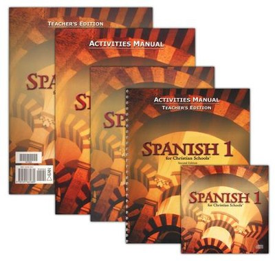 BJU Spanish 1, Homeschool Kit (Second Edition)    -