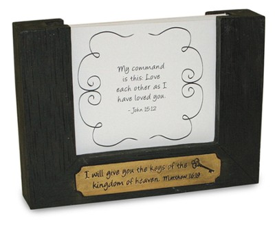 Keys of the Kingdom Scripture Keeper, Black   -