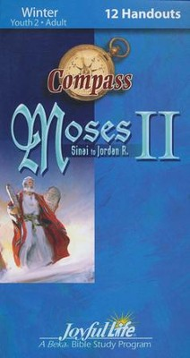 Moses II: Sinai to Jordan, Youth 2 to Adult, Compass Handouts, 12 Pack   -