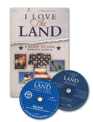 I Love This Land: A Ready to Sing Patriotic Musical (CD Preview-Pak)  -