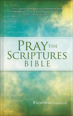 Pray the Scriptures Bible, Hardcover  -     By: Kevin Johnson