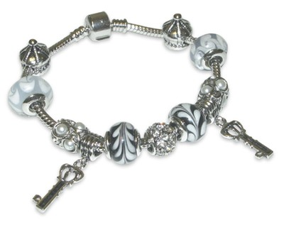 Keys of the Kingdom Charm Bracelet  -