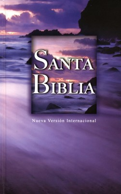 NVI Bible, Hardcover, Beach Scene  -