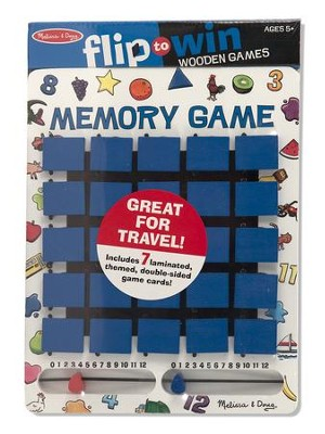 Flip to Win Memory Travel Game  -