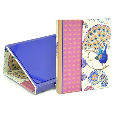 Peacock Ipad Folder with Scripture  -