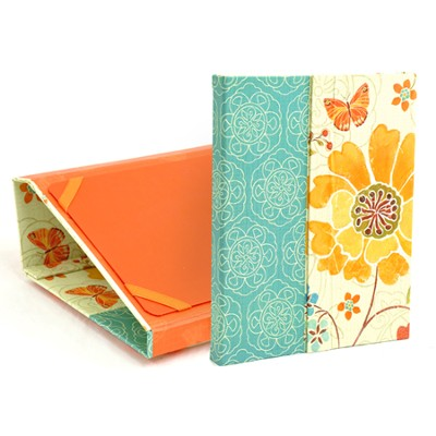 Floral Butterfly Ipad Folder with Scripture  -