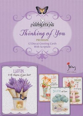 Grateful Heart, Thinking Of You Cards, Box of 12  -