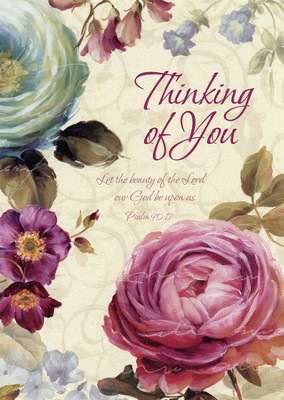 Loving Thoughts, Thinking Of You Cards, Box of 12  -     By: Lisa Audit