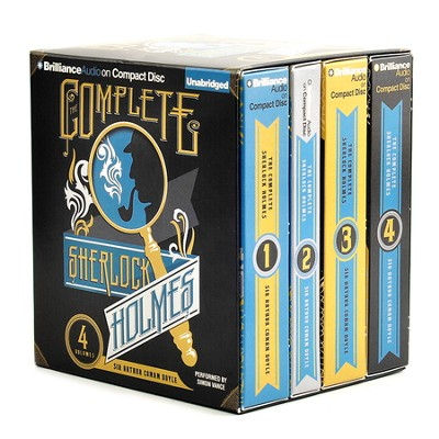 The Complete Collection of Sherlock Holmes, Unabridged on Audio CD   -     By: Sir Arthur Conan Doyle