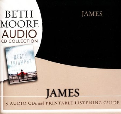 James: Mercy Triumphs -Audio CDs  -     By: Beth Moore