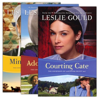 The Courtships of Lancaster County, Volumes 1-3  -     By: Leslie Gould
