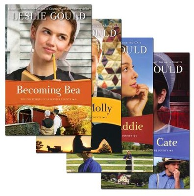 Courtships of Lancaster County Series, Vols. 1-4   -     By: Leslie Gould