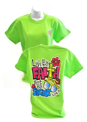 Girly Grace Sight Shirt, Lime,  XX-Large  -