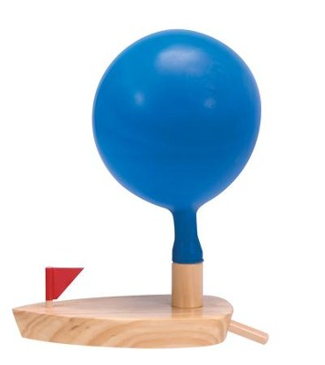 Balloon Powered Boat  -