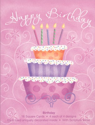 Birthday Surprise Cards, Box of 16  -     By: Sharla Fults