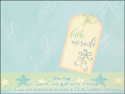 Beautiful Baby Blessings Cards, Box of 16  -     By: Teri Martin