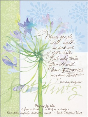 Reminders Of Grace, Praying for You Cards, Box of 16  -     By: Gail Flores