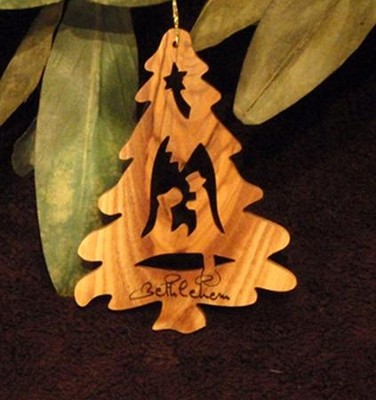 Nativity, Christmas Tree Ornament  -