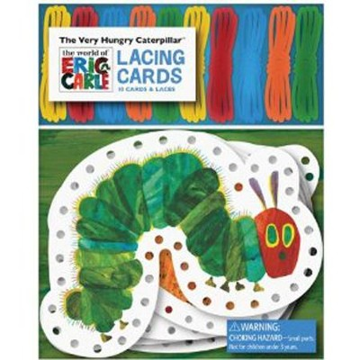 The Very Hungry Caterpillar Lacing Cards  -     By: Eric Carle