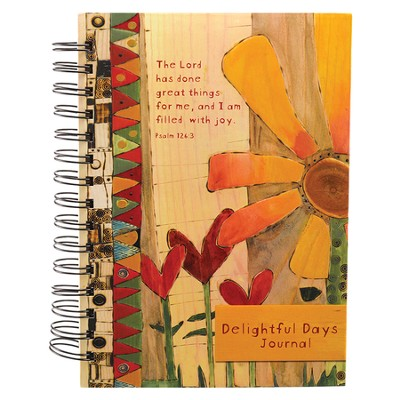 The Lord Has Done Great Things For Me, Wirebound Journal  -