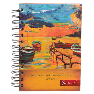 The Lord Is All I Need, Wirebound Journal, Small  -