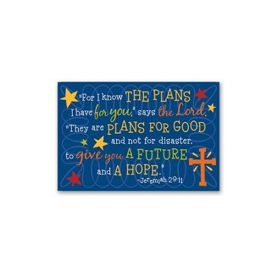 For I Know the Plans I have For You, Grad Magnet  -
