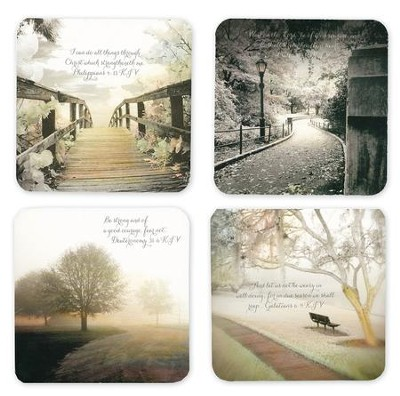 Paths of Inspiration Encouragement Cards, Box of 16  -