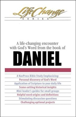 LifeChange Bible Study: Daniel  -     By: The Navigators