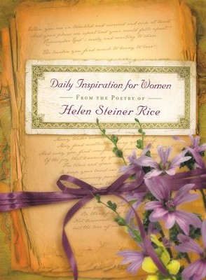 Daily Inspiration for Women: From the Poetry of Helen Steiner Rice - eBook  -     By: Helen Steiner Rice