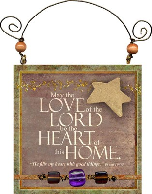 May the Love of the Lord Plaque  -