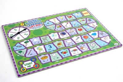 Learning Lift-Off! Vowel Digraphs Self Correcting Puzzle Game  -