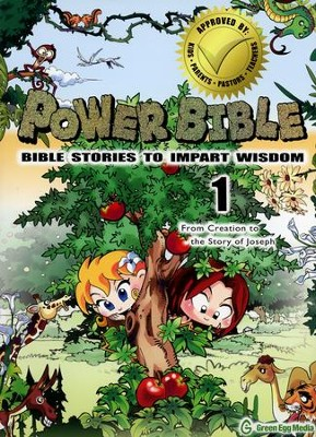 Power Bible: Bible Stories to Impart Wisdom, #1 - From Creation to the Story of Joseph  -     By: Shin-Joong Kim
