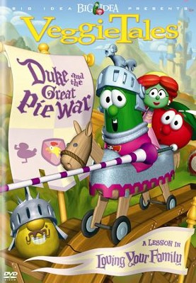 Duke and the Great Pie War, VeggieTales DVD   -