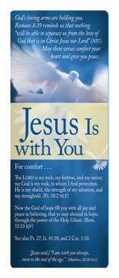 Jesus Is With You Bookmark  -