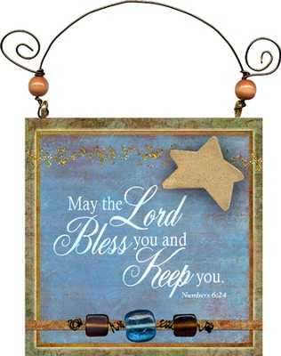 May the Lord Bless You Plaque  -
