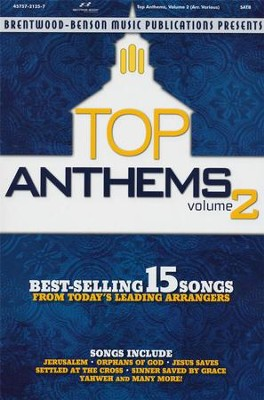 Top Anthems, Volume 2 (Choral Book)   -