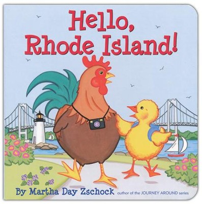 Hello Rhode Island!  -     By: Martha Day Zschock
