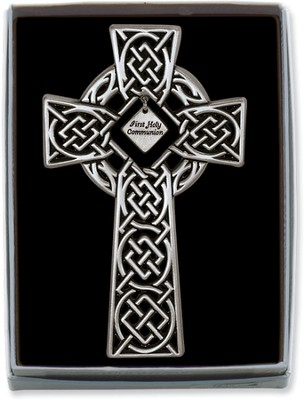 First Holy Communion Celtic Cross  -