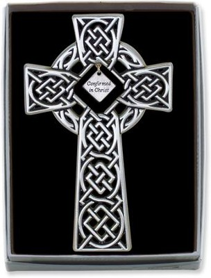 Confirmed in Christ Celtic Cross  -
