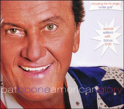 American Glory--DVD and CD   -     By: Pat Boone