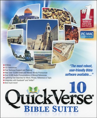 QuickVerse 10 Bible Suite  -