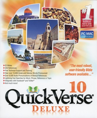 QuickVerse 10 - Deluxe on DVD-ROM  -