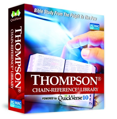 QuickVerse 10 - Thompson Chain Reference on DVD-ROM  -