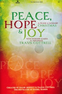 Peace, Hope & Joy (Choral Book)   -