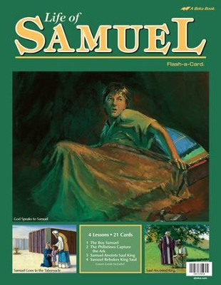 Life of Samuel Flash-a-Card Set   -