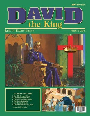 David the King Flash-a-Card Set   -