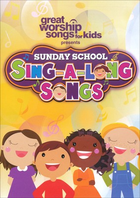 Sunday School Sing-A-Long Songs, DVD   -     By: Kids Praise Band