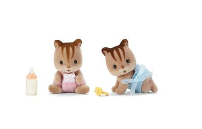Calico Critters, Hazelnut Chipmunk Twins  -