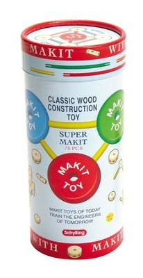 Makeit, Wood Construction Toy  -