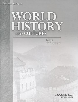 World History and Cultures Tests and Map Projects   -
